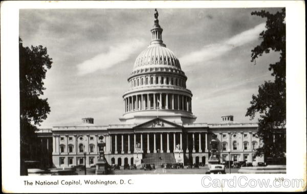 The National Capitol Washington District of Columbia