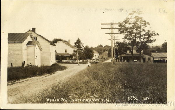 Main St Burlingham New York