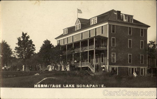 Hermitage Lake Bonaparte New York