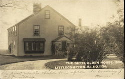 The Betty Alden House 1680