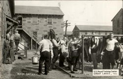 Wash Day, U. S. Naval training Center