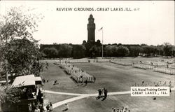 Review Grounds, U. S. Naval training Center