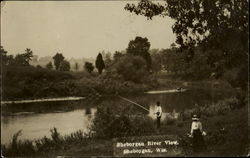 Fishing Sheboygan River View