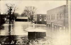 1927 Flood Main Street Looking South