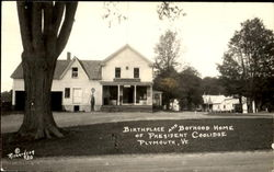 Birthplace And Boyhood Home Of President Coolidge