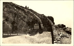 Steps At Summit, Whiteface Mountain Postcard