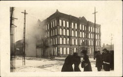Sherman House Fire 1910