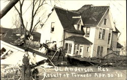 O. L. Anderson Residence after Tornado