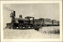 The Train Which Runs From Tacna To Arica