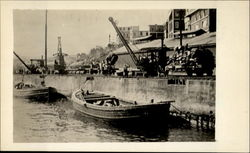 The Wharf Postcard