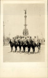 Rural Mounted Police And The Second Of May Monument