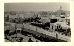 A Birds Eye View From The Roof Of The Park Hotel Postcard