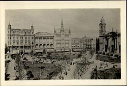 The Plaza De La Republica Postcard