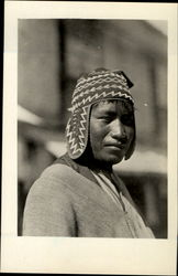 An Aymara Indian Postcard
