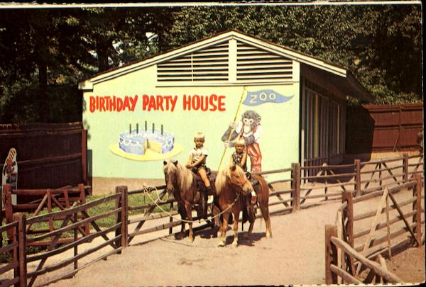 Birthday Party House, Philadelphia Zoological Garden Pennsylvania