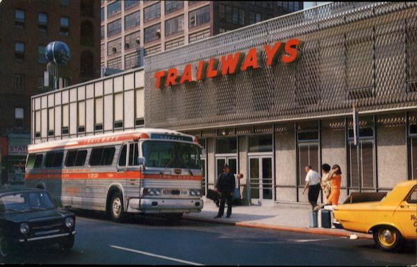 Trailways Bus Terminal, 13th and Arch Streets Philadelphia Pennsylvania