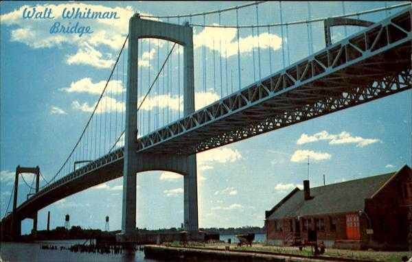 Walt Whitman Bridge Pennsylvania