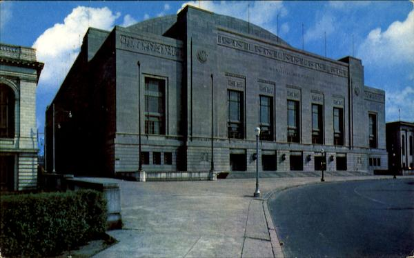 Municipal Auditorium Convention Hall, 34th and Pine Streets Philadelphia Pennsylvania