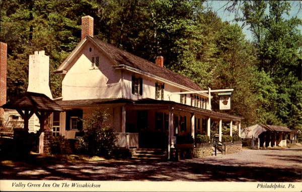 Valley Green Inn, Upper Wissahickon Philadelphia Pennsylvania
