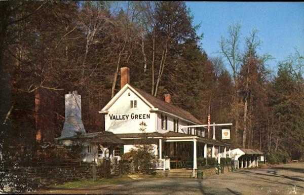 Valley Green Inn, Springfield Avenue and Wissahickon Creek Chestnut Hill Philadelphia Pennsylvania