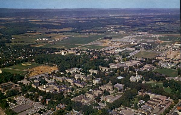 Aerial View Of Campus, The Pennsylvania State University
