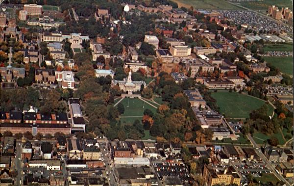 Aerial View Of The Pennsylvania State University, Land – Grant University of Pennsylvania