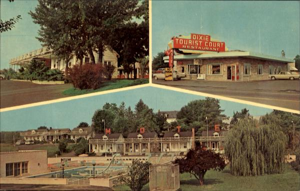 Dixie Motel & Restaurant Greencastle Pennsylvania