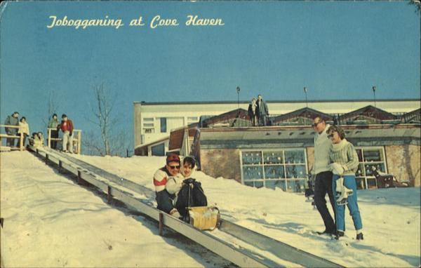 Jobogganing At Cove Haven Lakeville Pennsylvania