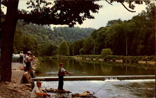 Fishermen 39 s paradise spring creek bellefonte pa for Spring creek pa fishing report
