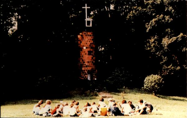 The Prayer Tower At Judson Baptist Camp, Holliday road North Springfield Pennsylvania