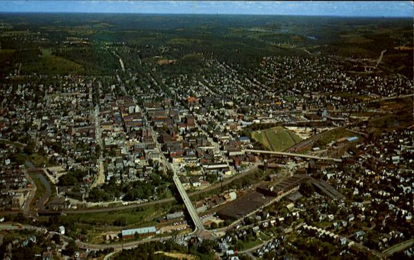Aerial View Of Butler Pennsylvania