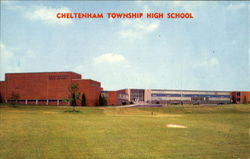 Cheltenham Township High School, Rice's Mill Rd., Near Limekiln Pike