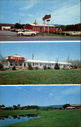Dutch Kitchen Restaurant & Motel And Red Barn Vacation Farm, Berks Co. Postcard
