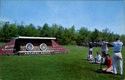 Paradise Valley Lodge's Archery Range, Memorytown