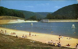 Beach At Lyman Run Dam