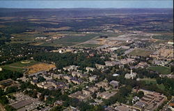 Aerial View Of Campus, The Pennsylvania State University Postcard