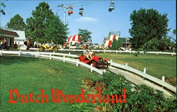 Dutch Wonderland, U. S. Rt. 30 East Postcard