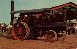 An Antique Frick Steam Tractor