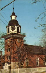 The Harmony Society Church Postcard