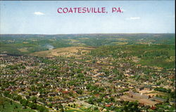 Aerial View Of Coatesville