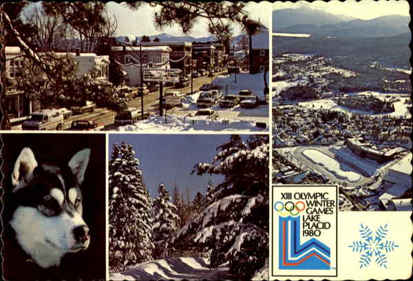 1932 - The Olympic Village - 1980 Lake Placid New York