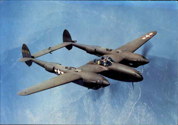 Lockheed P-38H Lightning Aircraft