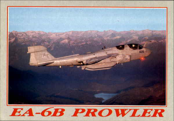 Ea-6B Prowler, N.A.S.-Whidbey Island Aircraft