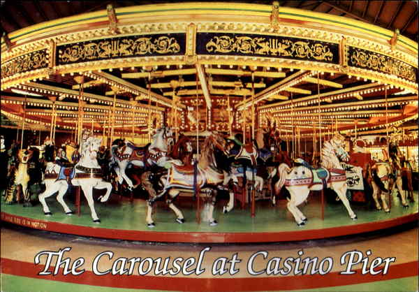 The Carousel At Casino Pier Seaside Heights Nj