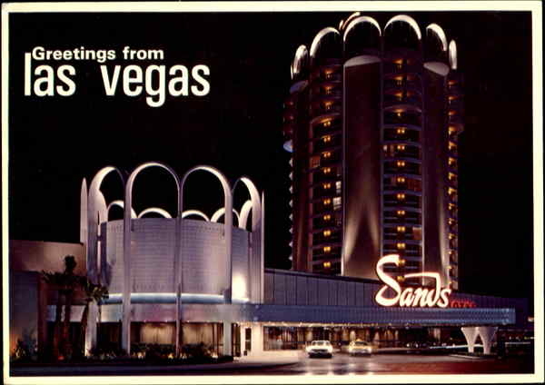 The Magnificent Sands Hotel Las Vegas Nevada