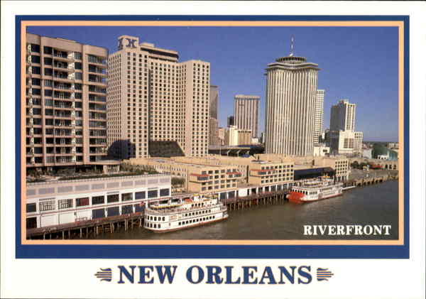 Riverfront New Orleans Louisiana