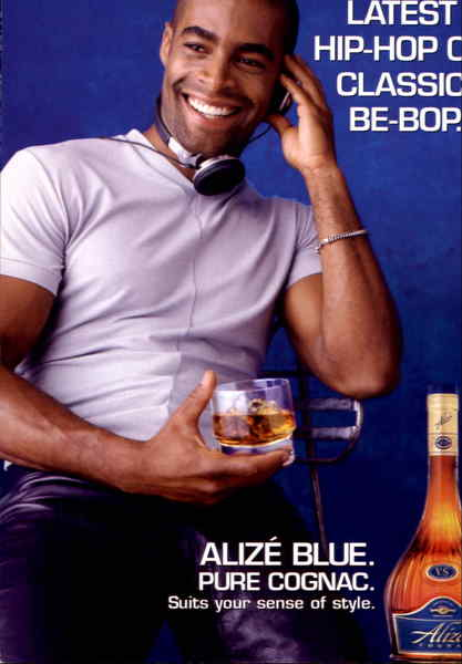 Alize Blue Pure Cognac Modern (1970's to Present)