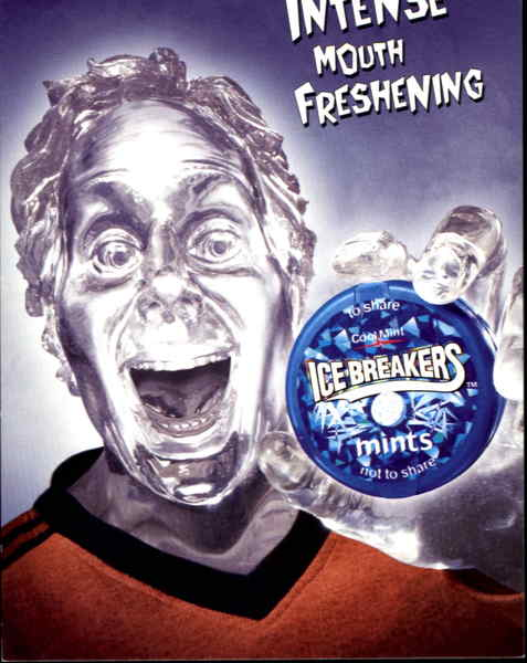 Intense Mouth Freshening Modern (1970's to Present)