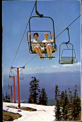 The Big Mountain Double Chairlift