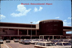 Houston's Intercontinental Airport Postcard
